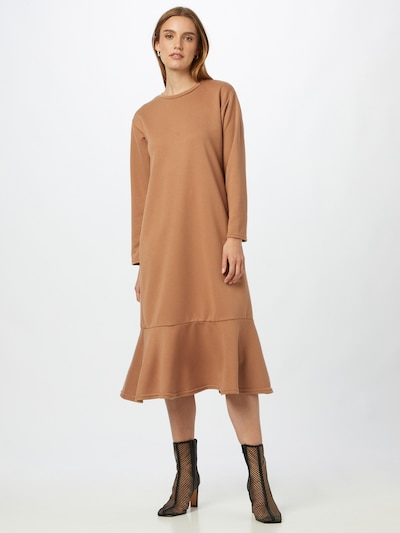 NEW LOOK Kleid in hellbraun, Modelansicht