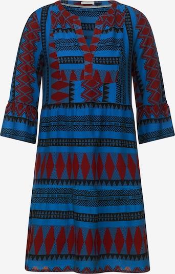 CECIL Kleid in blau / royalblau / schwarz, Produktansicht
