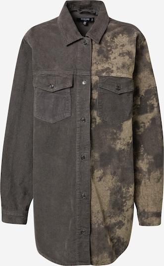 Bluză Missguided pe gri metalic / kaki, Vizualizare produs