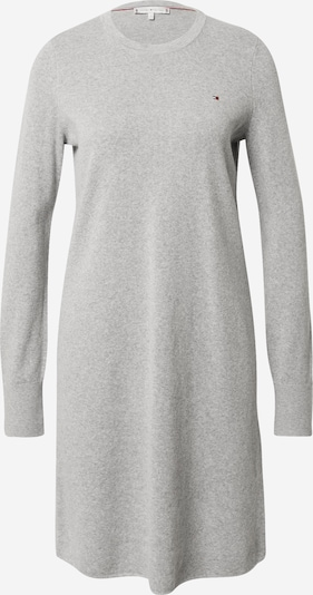 TOMMY HILFIGER Robes en maille en gris clair, Vue avec produit