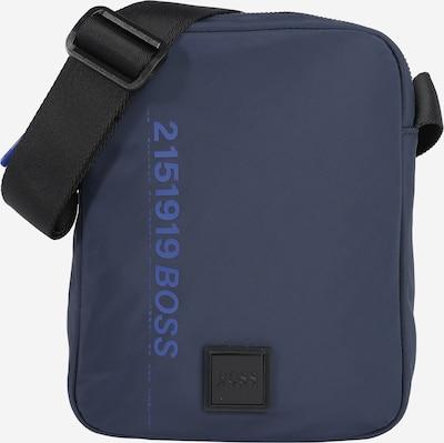BOSS Casual Schoudertas 'Scriptic_NS' in de kleur Navy, Productweergave
