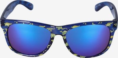 Six Lunettes de soleil en bleu / bleu foncé / violet, Vue avec produit