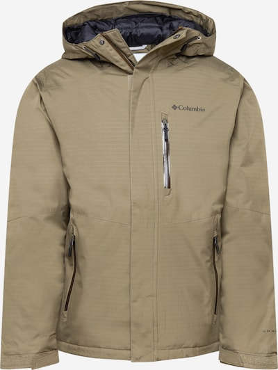 COLUMBIA Outdoor jacket 'Oak Harbor Insulated Jac-Black' in Green, Item view