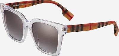 BURBERRY Sonnenbrille '0BE4335' en grau / orange / rot / schwarz / transparent, Vue avec produit