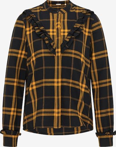 MUSTANG Bluse in orange / schwarz, Produktansicht
