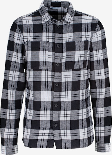 Young Poets Society Button Up Shirt 'Mic flannel 214' in Light grey / Black, Item view