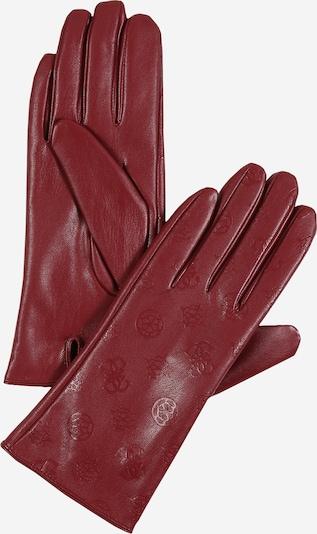 GUESS Prstové rukavice - tmavě červená, Produkt
