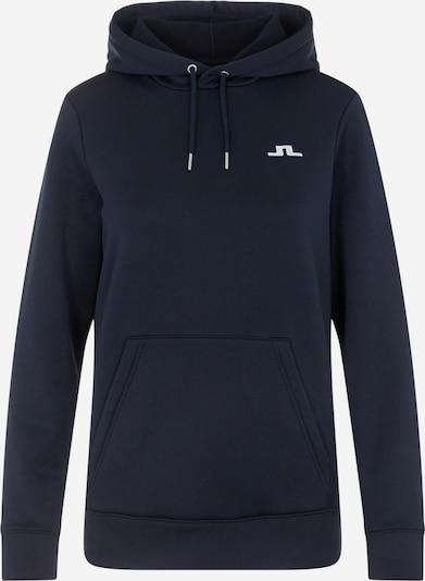 J.Lindeberg Sportief sweatshirt in de kleur Donkerblauw, Productweergave