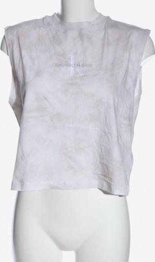 Calvin Klein Jeans Strickshirt in L in weiß, Produktansicht