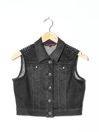 TOM TAILOR Jeansweste in XS-S in schwarz, Produktansicht
