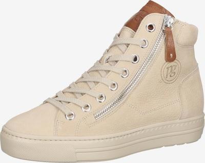 Paul Green Sneakers hoog in de kleur Beige, Productweergave