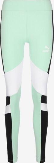 PUMA Leggings 'TFS' in mint / schwarz / weiß, Produktansicht