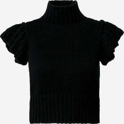 Y.A.S (Petite) Sweter 'YASMEGGY' w kolorze czarnym: Widok z przodu