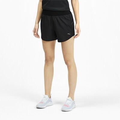 PUMA Sporthose 'Ignite' in schwarz / weiß: Frontalansicht