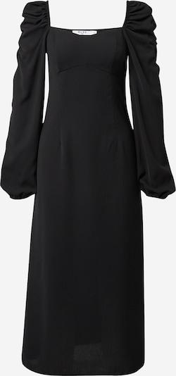 Rochie de seară NA-KD pe negru: Privire frontală