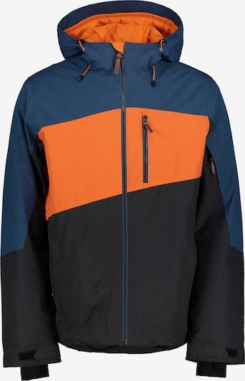 ICEPEAK Outdoorjas in de kleur Blauw / Neonoranje / Zwart, Productweergave