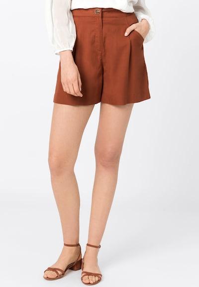 HALLHUBER Shorts in rostrot, Modelansicht