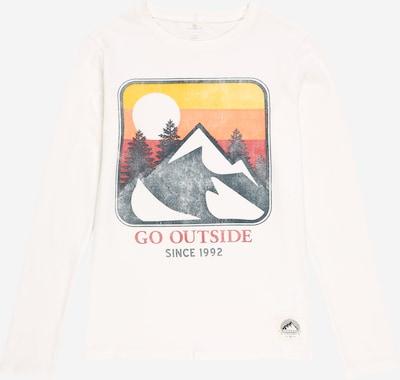 NAME IT Shirt 'Move' in gelb / grau / orange / rot / weiß, Produktansicht