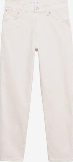 Jeans MANGO pe alb denim, Vizualizare produs