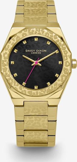 DAISY DIXON Uhr in gold / schwarz, Produktansicht