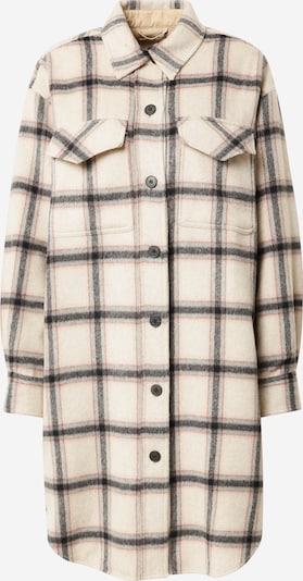 Designers Remix Prijelazna jakna 'Angelo' u boja pijeska / smeđa / siva / crna, Pregled proizvoda