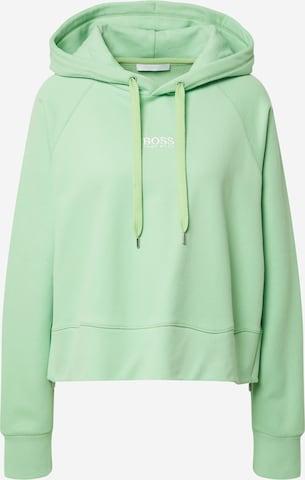 BOSS Casual Sweatshirt 'Elisa' i grønn