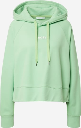 BOSS Casual Sweatshirt 'Elisa' in mint / weiß, Produktansicht