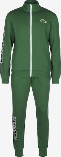 LACOSTE Trainingspak ' Survetement ' in de kleur Groen / Wit, Productweergave