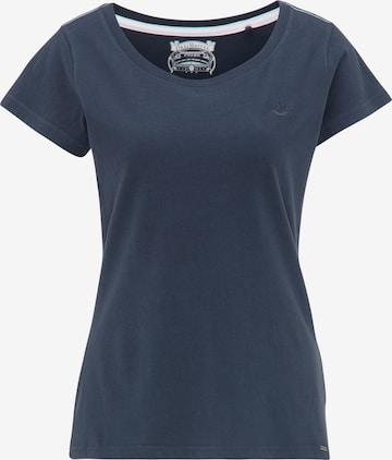 Tricou de la DreiMaster Vintage pe albastru