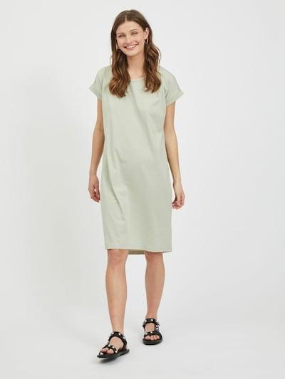 VILA Kleid 'Dreamers' in pastellgrün, Modelansicht