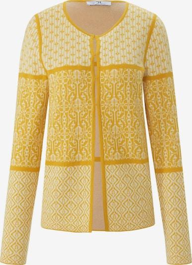 Peter Hahn Strickjacke in gelb, Produktansicht