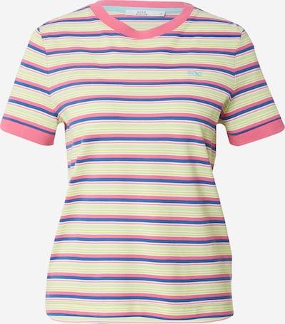 EDC BY ESPRIT T-shirt i blå / limette / rosa, Produktvy