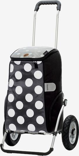 Andersen Shopper Cabas en gris / noir / blanc, Vue avec produit