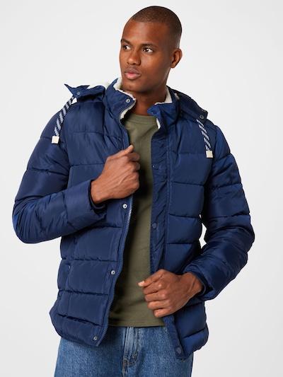 BLEND Jacke in dunkelblau: Frontalansicht