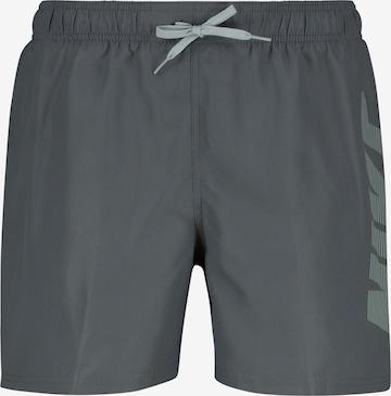 Nike Swim Badeshorts in Grau