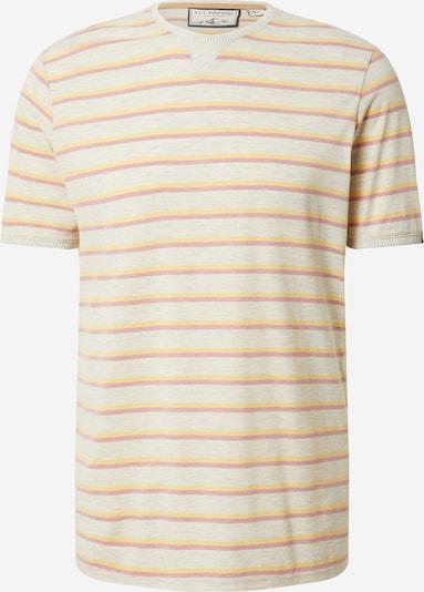 Fli Papigu T-Shirt 'Dein Herz geklaut' in gelb / graumeliert / himbeer / weißmeliert, Produktansicht