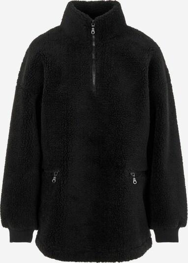 PIECES Fleecejacke 'PCELSA' in schwarz, Produktansicht