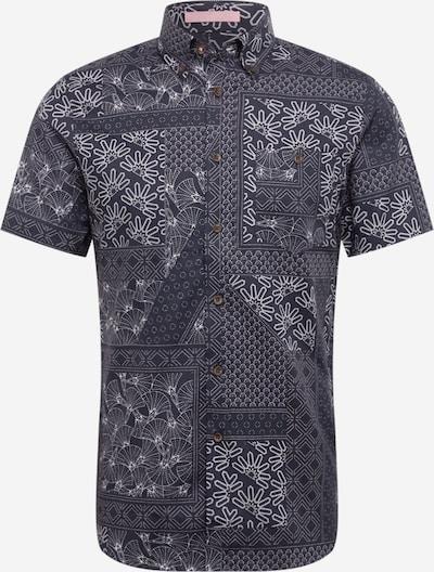 Ted Baker Košeľa 'Romkom' - námornícka modrá / biela, Produkt