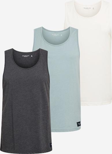 Abercrombie & Fitch Tričko - opálová / tmavě šedá / bílá, Produkt