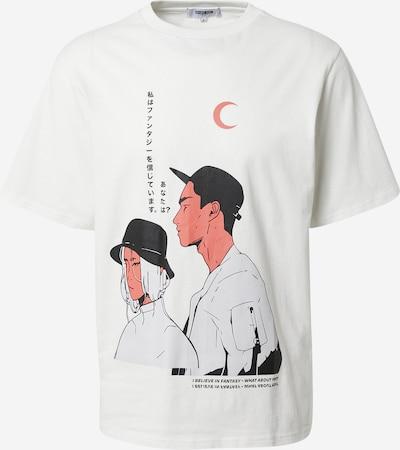 ABOUT YOU Limited Тениска 'Sammy' в мръсно бяло, Преглед на продукта