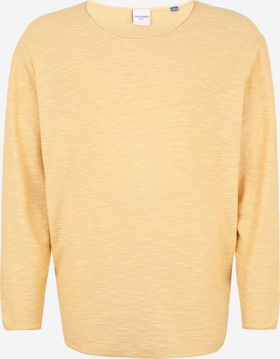 Jack & Jones Plus Pull-over en jaune clair, Vue avec produit