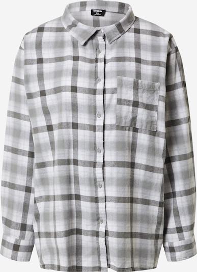 Cotton On Bluse in basaltgrau / weiß, Produktansicht