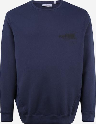 s.Oliver Red Label Big&Tall Sweat-shirt en bleu, Vue avec produit