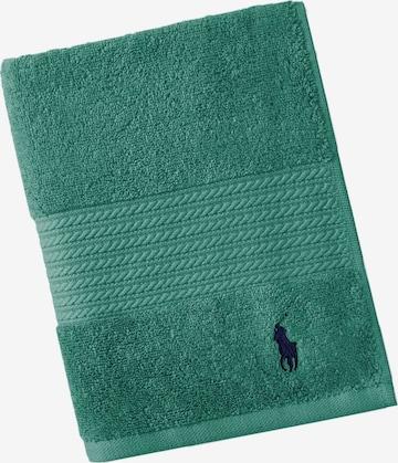 Ralph Lauren Home Towel 'POLO PLAYER' in Green