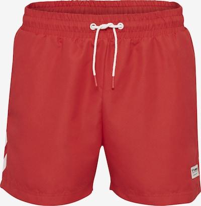 Hummel Boardshorts in de kleur Rood, Productweergave