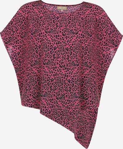 MYMO T-Shirt in pitaya / schwarz, Produktansicht