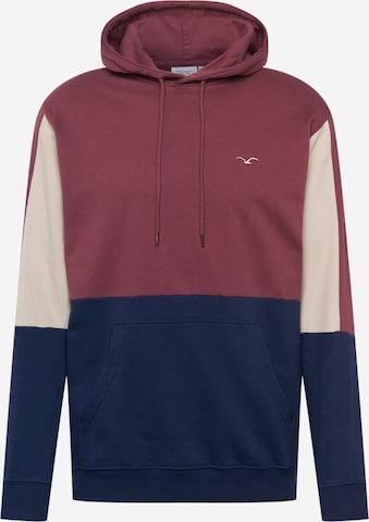 Cleptomanicx Sweatshirt 'Doust' in Rot
