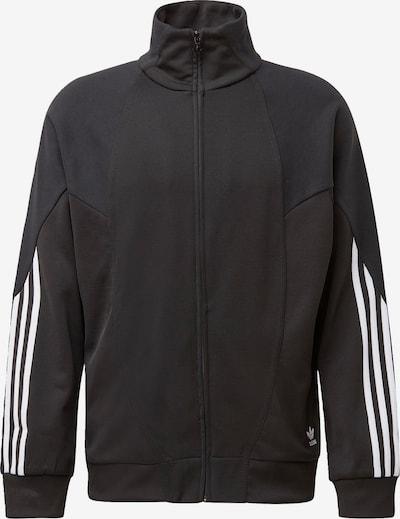 ADIDAS ORIGINALS Bluza rozpinana w kolorze czarny / białym, Podgląd produktu