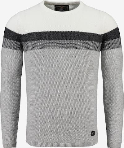 Pullover 'HANSI' Key Largo di colore grigio / grigio scuro / nero / bianco, Visualizzazione prodotti
