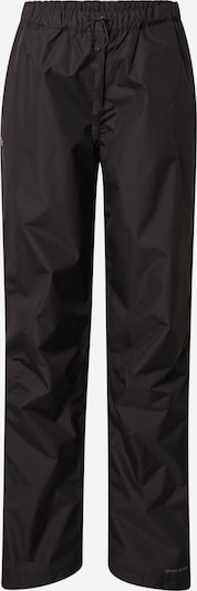 VAUDE Pantalon outdoor 'Fluid' en noir, Vue avec produit